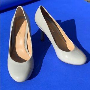 Gray Pumps Heels